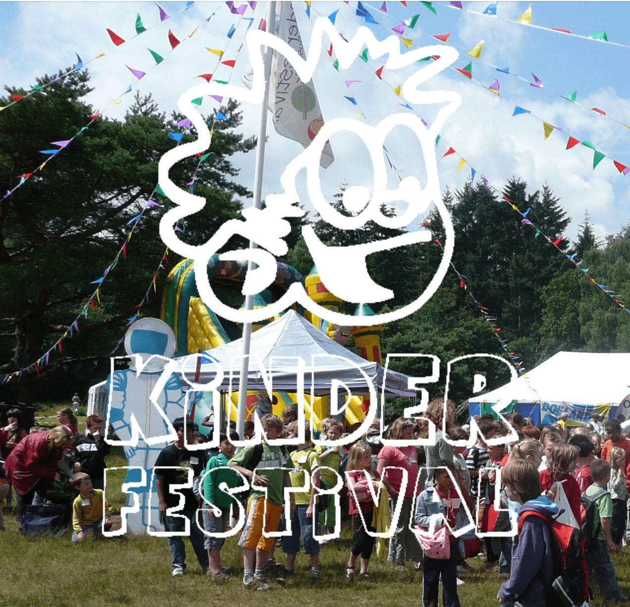 De nieuwe website van het Kinderfestival