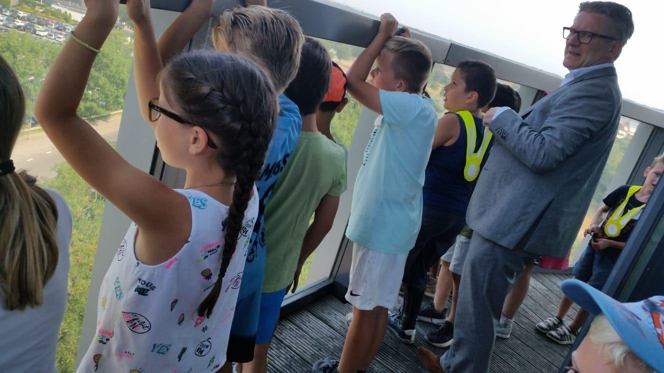 Excursie naar de watertoren van Bussum