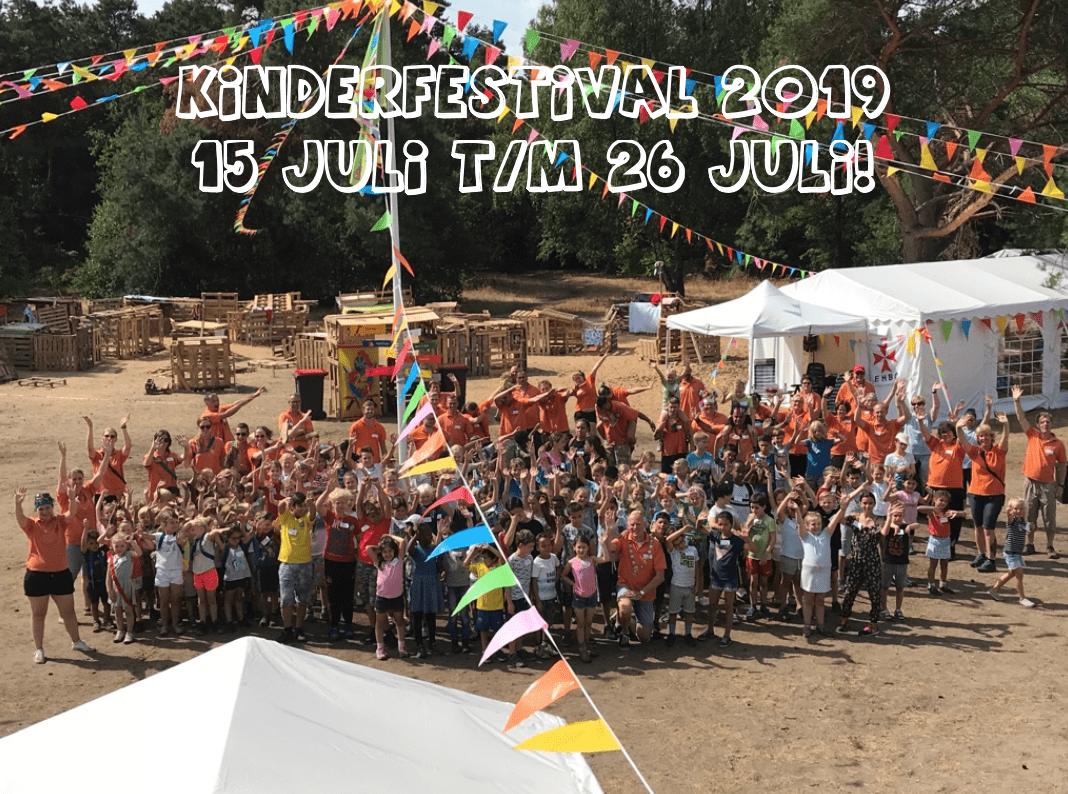 Data Kinderfestival 2019 bekend!